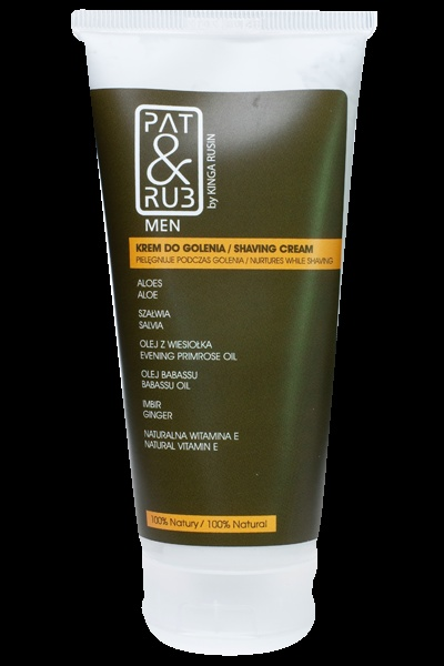 Shaving Cream for Men  Prepares the skin for shaving  Beautifies and protects during shaving  eco-certified ingredients