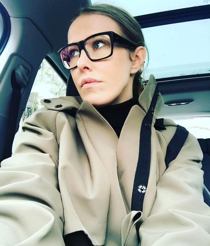 59.2 тис. вподобань, 516 коментарів – Ксения Собчак (@xenia_sobchak) в Instagram: «Day3: f...ing cold and raining!!! Wearing @ulyana_sergeenko_moscow coat and @ditaeyewear shades»