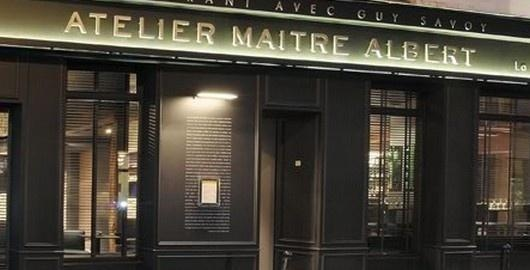 Atelier-Maitre-Albert. Amazing food. Loved my lamb, loved my entree and loved dessert and wine too.