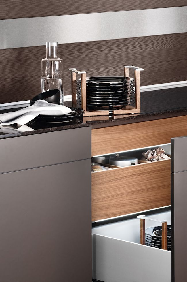 Cozy•Stylish•Chic | Master the Art of Stylish and Organized Kitchen Drawers in 2015 with Poggenpohl | http://www.cozystylishchic.com