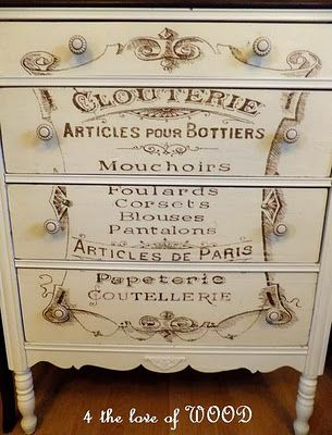 dresser transfer make overDresses Chest, French Typography, Shabby Chic, Paris, Graphics Fairy, Articles, French Dresses, Chest Of Drawers, Graphics Fairies