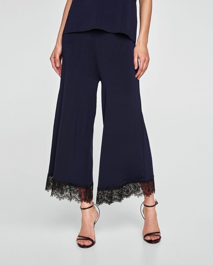 Image 2 of LACE CULOTTES from Zara