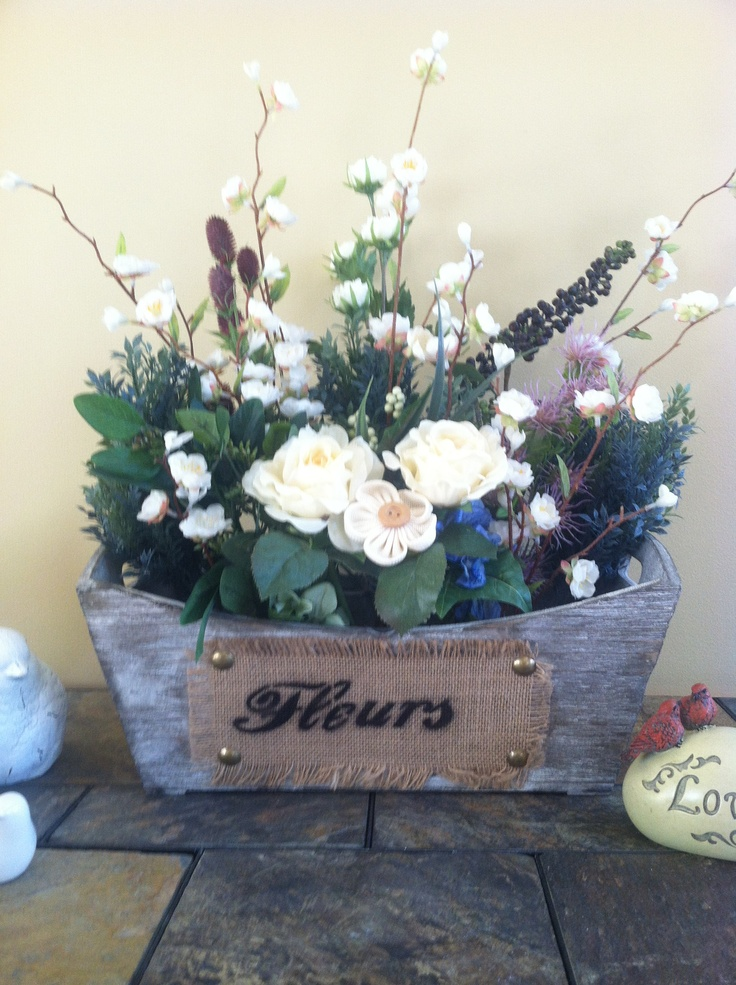Silk flowers AC Moore. Container Joann's A French inspired ...