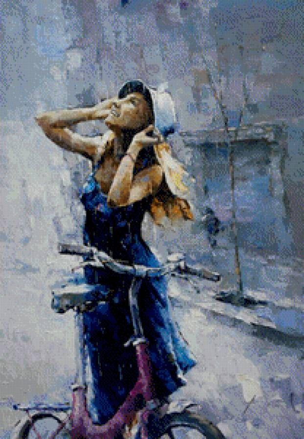 Александр Зайцев. Летний дождь., предпросмотр