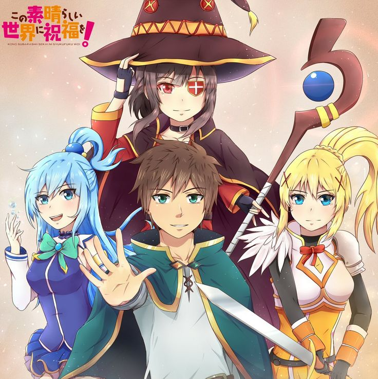Anime picture kono subarashii sekai ni shukufuku wo