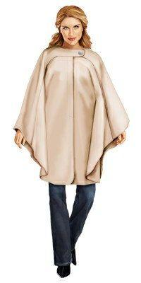 5732 Personalized Poncho Sewing Pattern - Women Poncho, Ladies Clothes, PDF pattern. $2.49, via Etsy.