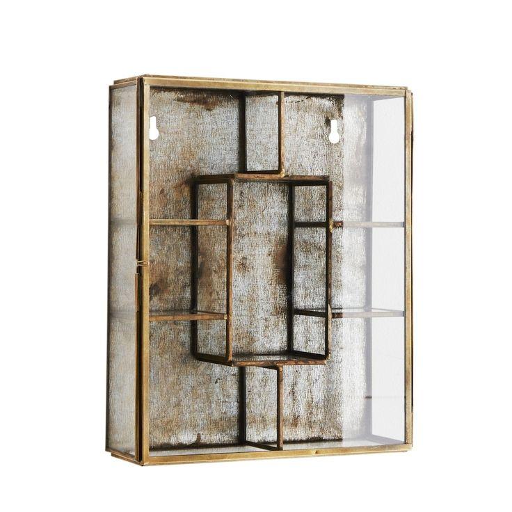 Antique Brass Mirror Box | Bathroom Cabinet | Design Vintage