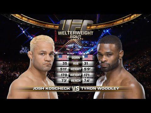 UFC (Ultimate Fighting Championship): UFC 201 Free Fight: Tyron Woodley vs Josh Koscheck