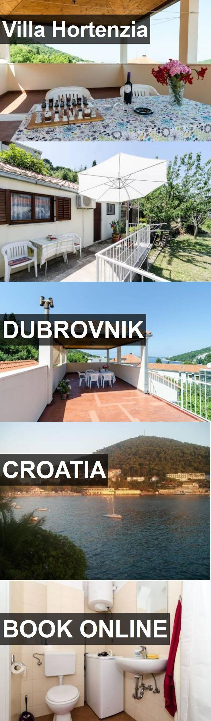 Hotel Villa Hortenzia in Dubrovnik, Croatia. For more information, photos, reviews and best prices please follow the link. #Croatia #Dubrovnik #VillaHortenzia #hotel #travel #vacation