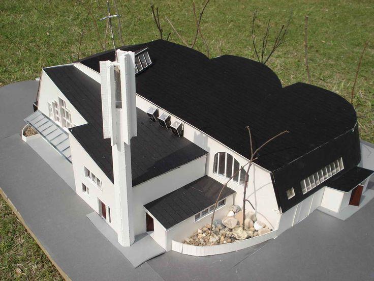 Church of the Three Crosses : Vuoksenniska Church, Imatra Finland (1956-58) | Alvar Aalto