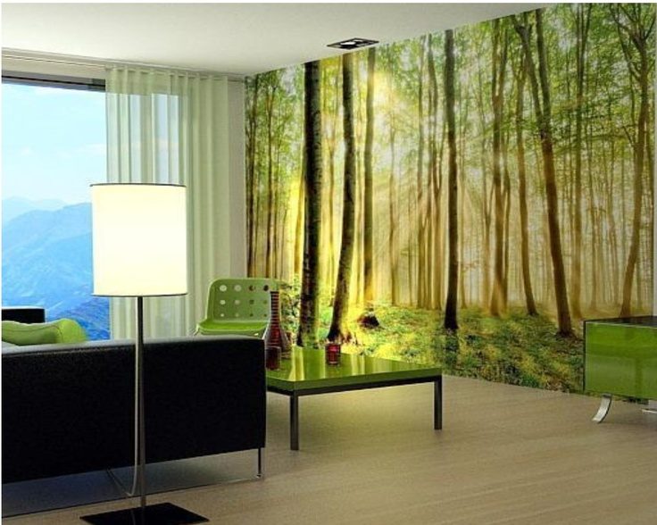 Photo Mural, I had this wall in my livingroom back in Holland...