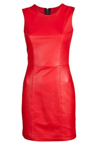Best 25  Red leather dress ideas on Pinterest | Leather look ...