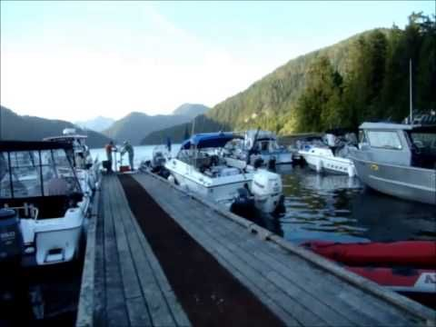 A quick video of the dock at Cougar Creek Campsite on Vancouver Island.  This was shot in July the beginning of the rush to catch salmon.