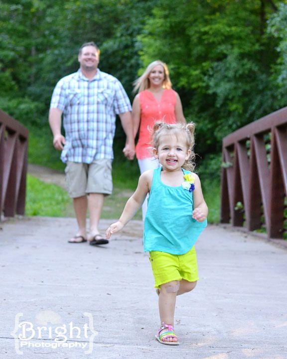 2 year old family photo shoot