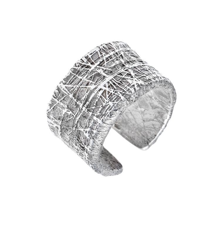 Hálós ezüst gyűrű. Szilas Judit, ötvös. Egyedi ékszerkészítés.  Mail.: szilasjudit@gmail.com , www.szilasjudit.hu