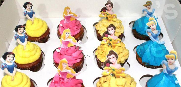 Disney Princesses Cupcakes  on Cake Central