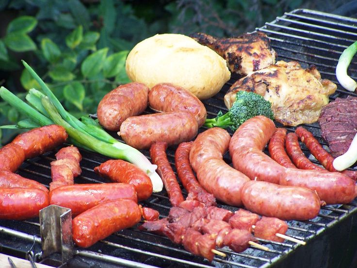 BBQ Spanish sausages and more...