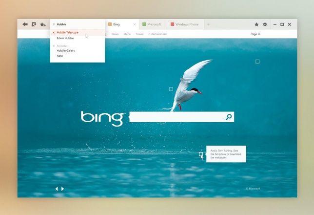 bing concept design