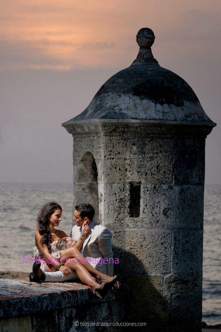 Happy couple @MiBodaEnCartagena...: Luisa & Lenny's Wedding in Cartagena, by Pedraza Producciones, #cartagenaweddings #bodascartagena #mibodaencartagena