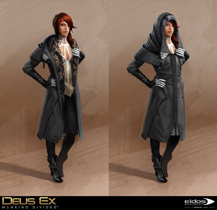 Deus Ex Mankind Divided - Mistery Woman, Bruno Gauthier Leblanc on ArtStation at https://www.artstation.com/artwork/yB1AR