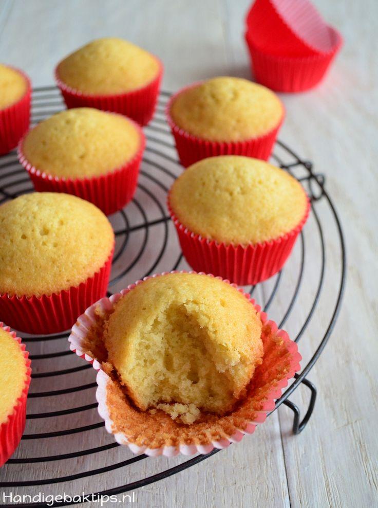 Waarom zakken cupcakes in - Handige baktips !