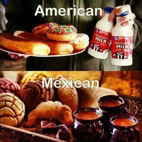 American vs mexican so true pinterest i pick and - Mexican american cuisine ...