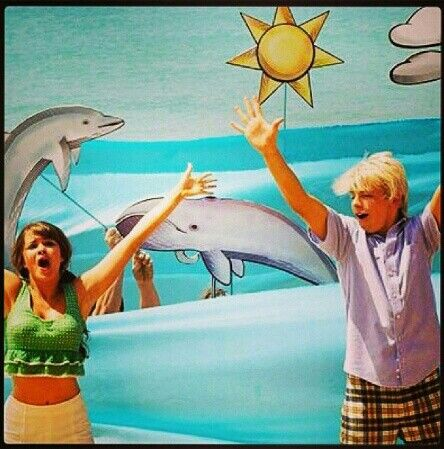 Ross Lynch and Maia Mitchell in Teen Beach Movie!
