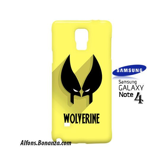 Wolverine Superhero Samsung Galaxy Note 4 Case