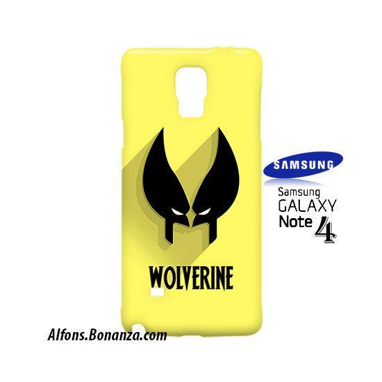 Wolverine Superhero Samsung Galaxy Note 4 Case