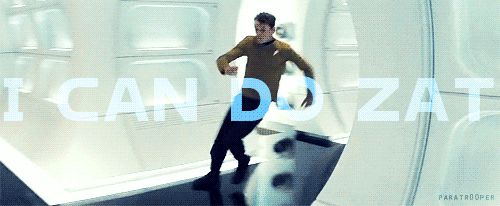 One day, let's just count how many times I use this phrase, thanks to Chekov.