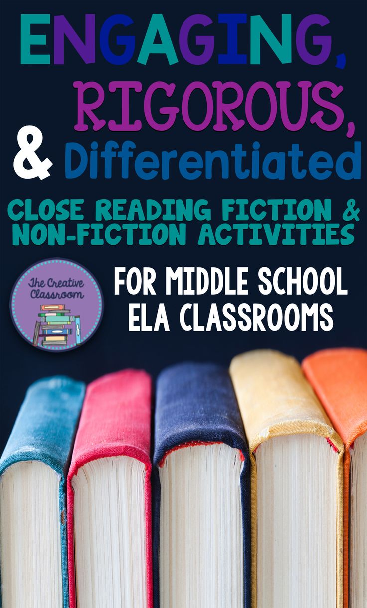 Engaging, Rigorous, and Differentiated Close Reading Activities for Middle School ELA Classrooms: Short Stories, Non-Fiction & More!