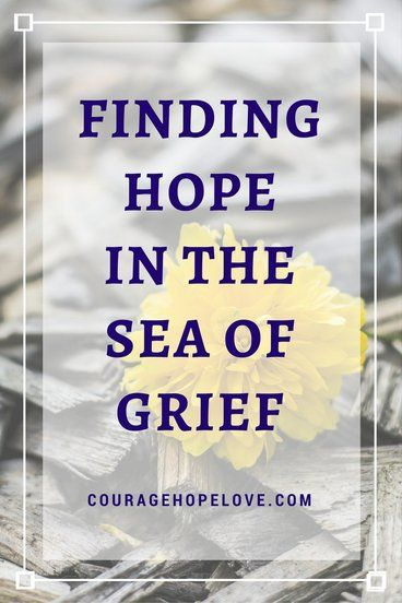 58 best grief and loss images on pinterest christian living finding hope in the sea of grief fandeluxe PDF