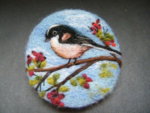 Handmade-needle-felted-brooch-Gift-The-Little-Long-Tailed-Tit-by-T-Dunn