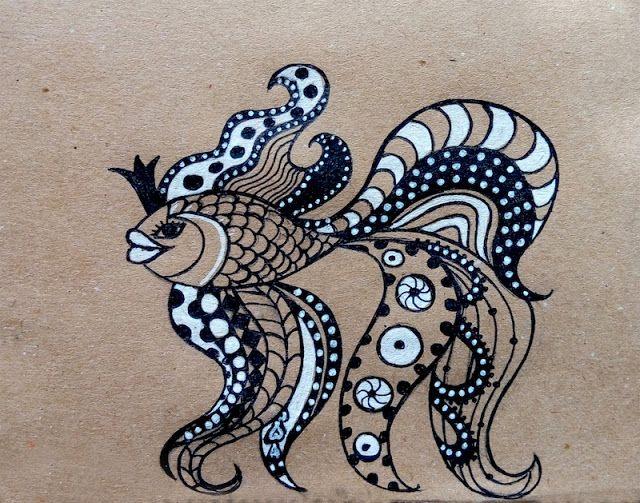 Crafty Olga: Бохо рисунки/Boho drawings