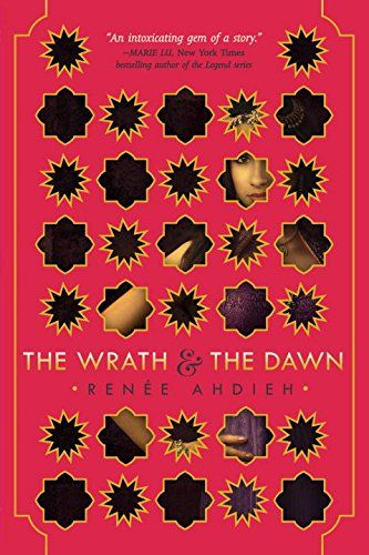 The Wrath and the Dawn- Khalid, the Caliph of Khorasan, takes a new bride each night only to have her executed at sunrise. So it is a suspicious surprise when Shahrzad volunteers to marry Khalid. With a clever plan to stay alive and exact revenge on the Caliph for the murder of her best friend and countless other girls. Shazi's wit and will get her through to the dawn, but with a catch; she's falling in love with the boy who killed her friend.