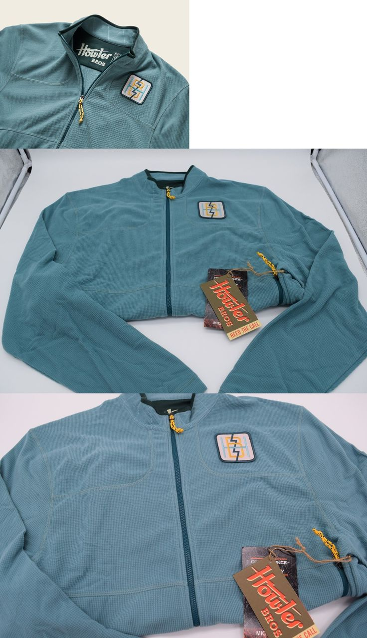 Jackets and Coats 65976: Howler Brothers Talisman Fleece Jacket Belafonte Blue Large -> BUY IT NOW ONLY: $89 on eBay!