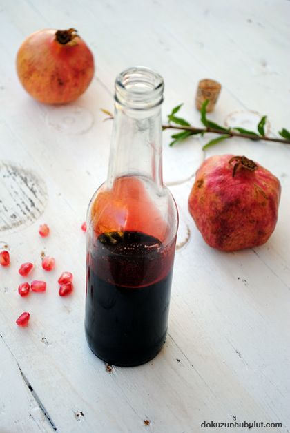 pomegranate juice for salad...