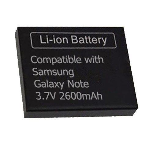 Modern-Tech Samsung GT-N7000 Galaxy Note High Capacity Replacement 2600mAh Battery Made from high quality materials. Re-chargeable and long lasting. CE Certified. Over charge protection.  #Modern-Tech #Wireless