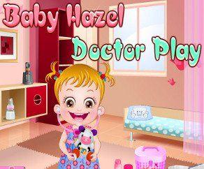 Малышка Хейзел Игра В Доктора, http://www.babyhazelworld.com/game/malyshka-hjejzjel-igra-v-doktora. Помоги малышке Хейзел отремонтировать ее нового плюшевого мишку, с помощью набора для первой медицинской помощи
