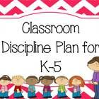 This download includes everything you need to establish classroom discipline. It includes: *Parent Letter to explain the discipline plan *Rules Cha...
