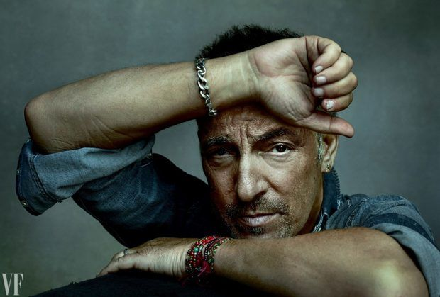 Rock Star Bruce Springsteen Takes Vanity Fair October 2016 Cover Story