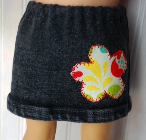 American Girl Skirt from Jeans