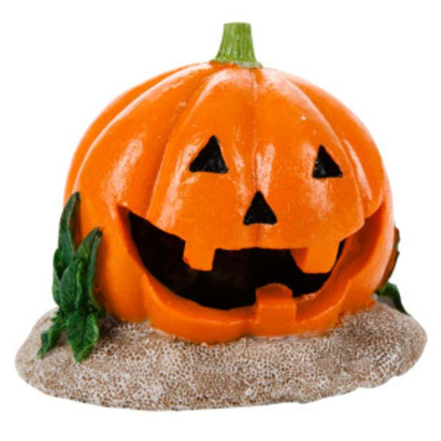 Top Fin® Pumkin Halloween Aquarium Ornament