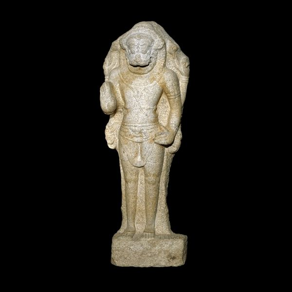 British Museum - Figure of Narasimha  From Tamil Nadu, southern India Chola dynasty, around AD 950  Vishnu in his man-lion avatara