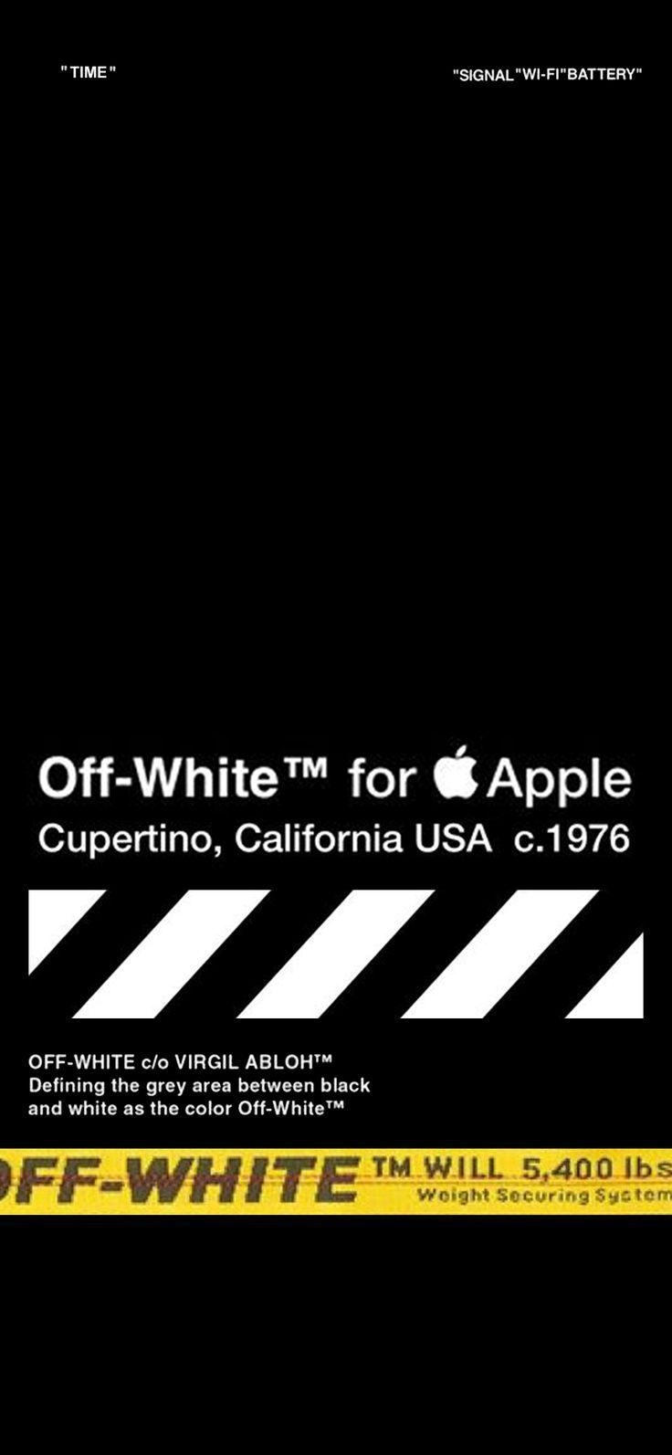 Off White Home Screen For Iphone X 4k White Wallpaper For Iphone Iphone Wallpaper Off White Wallpaper Off White