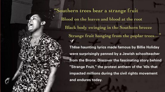 Behind strange fruit the protest anthem of the 40s that impacted
