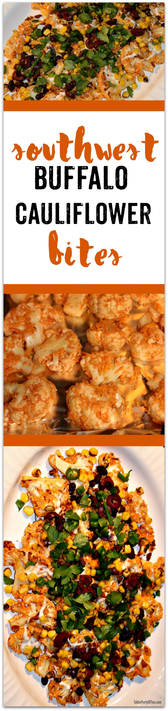 {Msg 4 21+} Southwest Buffalo Cauliflower Bites + Basketball Party Entertaining and Printables -TablerPartyOfTwo.com #GameDayParty #ad
