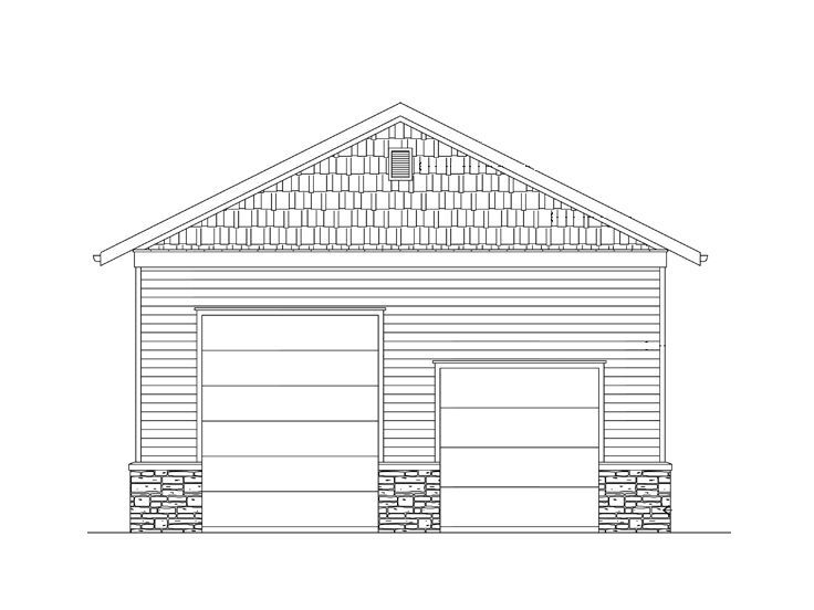RV Garage Plan, 024G-0002