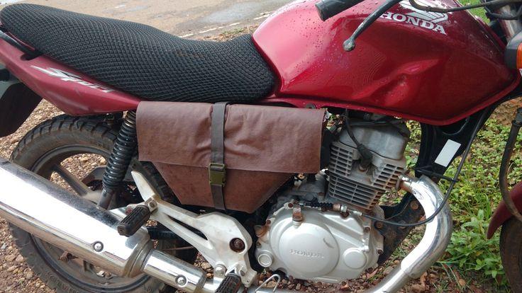 Alforge moto 150 Sport #handmade