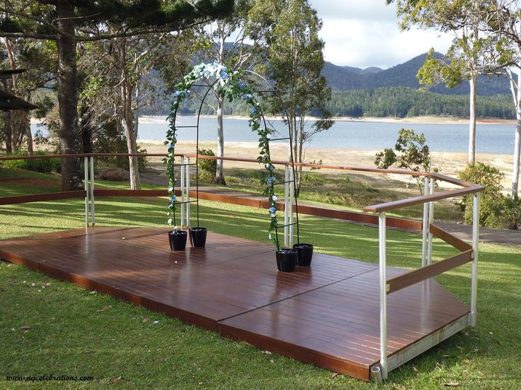 The Setting For Your Wedding At Beautiful Tinaroo Lakes Resort On Atherton Tablelands